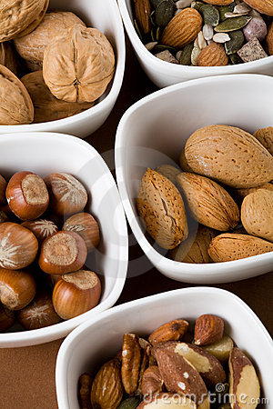 Free Nuts And Seeds Stock Images - 7282034