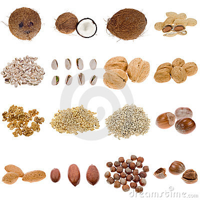Free Nuts And Seeds Collection Stock Photos - 3770433