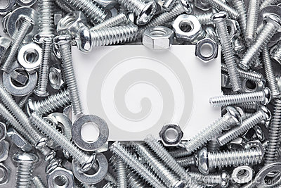 Nuts and bolts frame