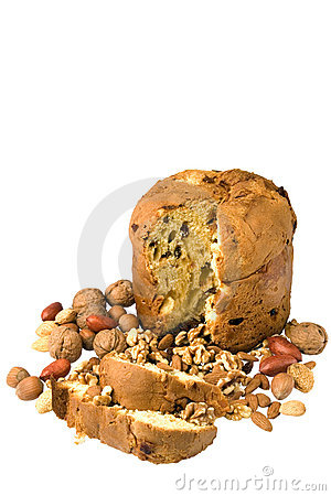 Nuts and cake