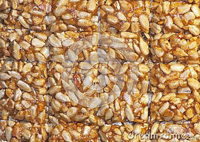 Nuts-and-honey bar