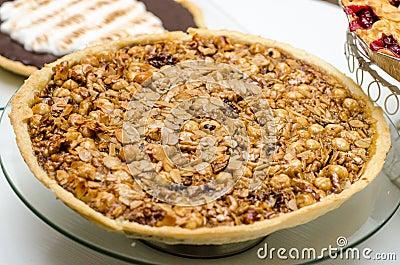 Nuts pie