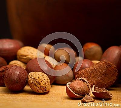 Nutty snack