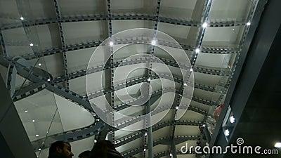 Nuvola Di Fuksas Roma Convention Center stock footage