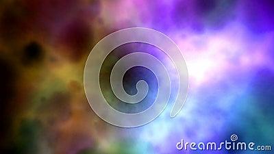 Nuvole astratte di colore royalty illustrazione gratis