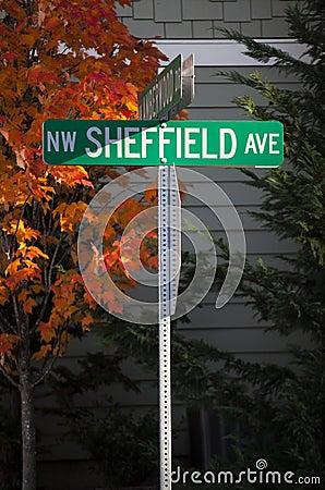NW Sheffield Avenue