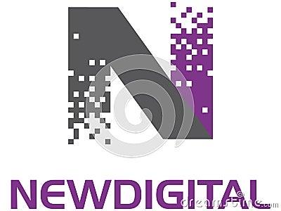 Ny digital logo