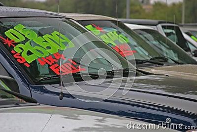 Ny försäljning för bilar