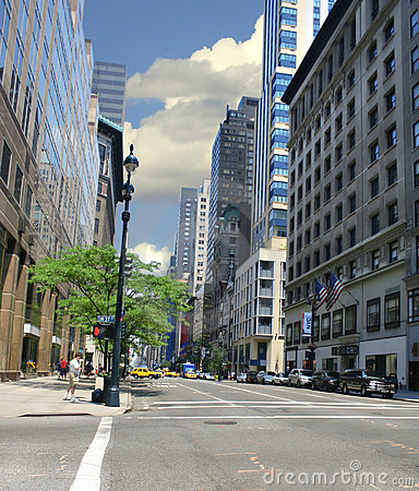 Ny gata york för stad
