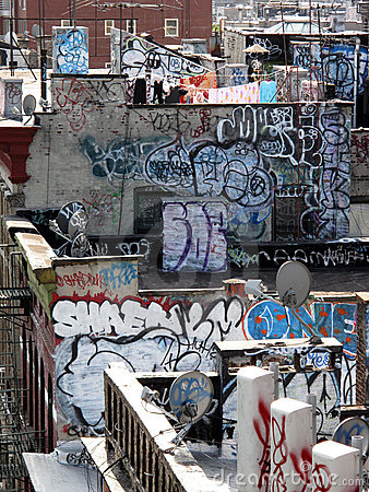 Free Ny Graffiti Stock Image - 20921791
