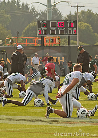 Ny jets training camp Editorial Photo