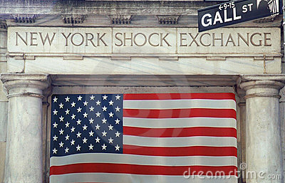 NY Shock Exchange Editorial Image
