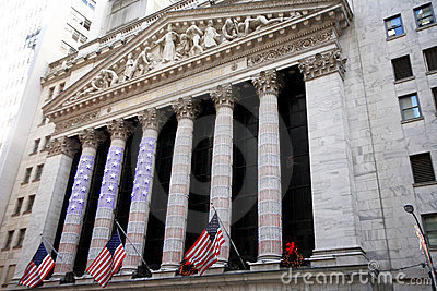 NY stock exchange Editorial Stock Image