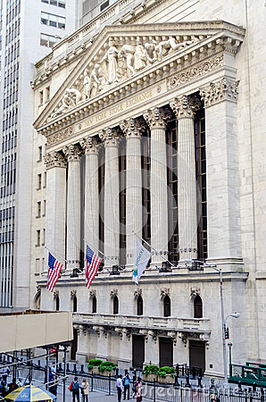 NY Stock Exchange, Wall Street Editorial Photography