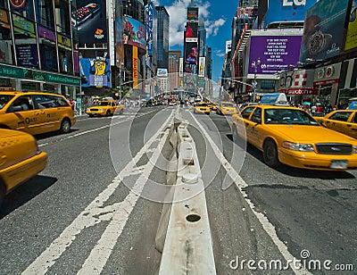 NY taxis Editorial Photography