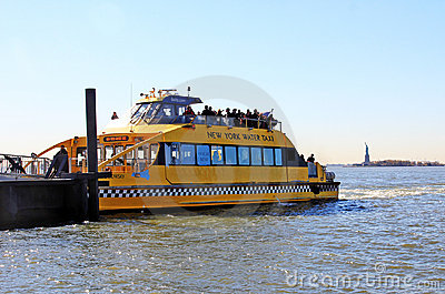 NY Water Taxi Editorial Photo
