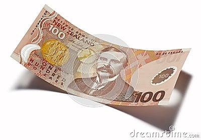 Nya Zeeland hundra dollar