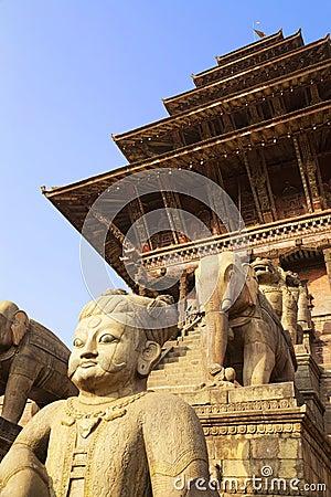 Nyatapola Temple, Bhaktapur Durbar Square, Nepal