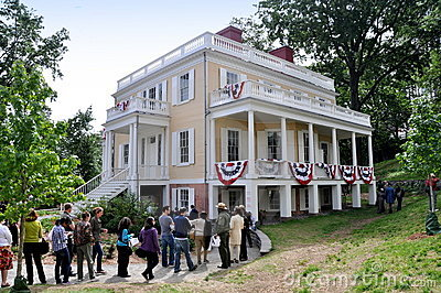 NYC:  1802 Hamilton Grange Editorial Photo