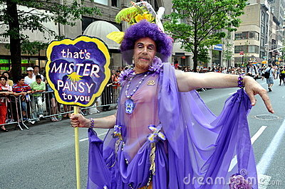 NYC: 2010 Gay Pride Parade Editorial Image