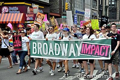 NYC:  2010 Gay Pride Parade Editorial Photography