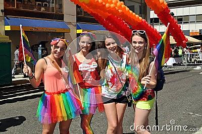 NYC:  2012 Gay Pride Parade Editorial Image