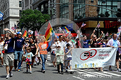 NYC: 2012 Gay Pride Parade Editorial Photo