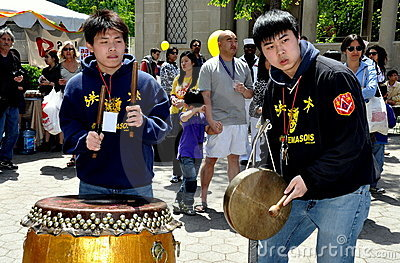 NYC: Asian American Festival Musicians Editorial Image