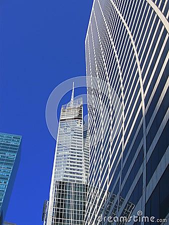NYC building sky scrapper