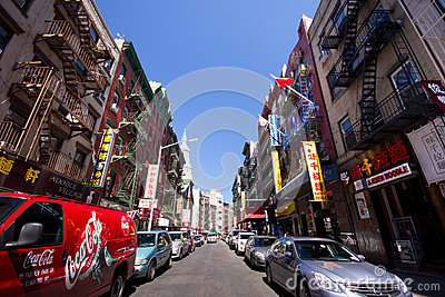 NYC Chinatown Editorial Photography