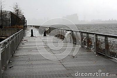 NYC Damage - Hurricane Sandy Editorial Photography
