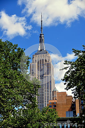 NYC:  Empire State Building Editorial Stock Photo