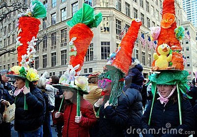 NYC: Fifth Avenue Easter Parade Editorial Stock Image