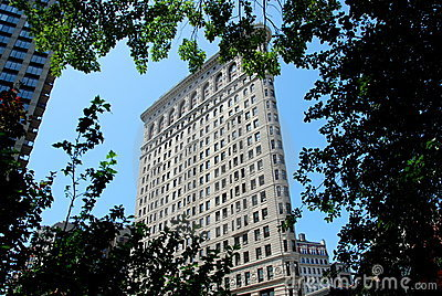 NYC: The Flatiron Building Editorial Photography
