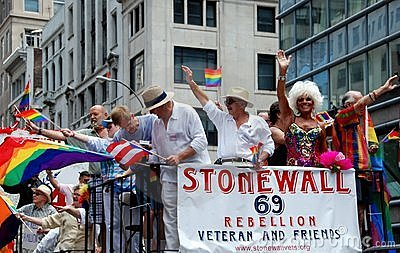 NYC:  Gay Pride Parade Editorial Stock Photo