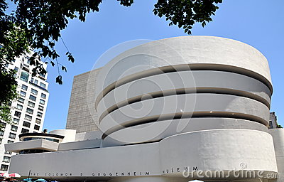 NYC:  The Guggenheim Museum Editorial Photo