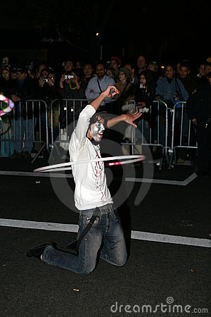 NYC Halloween parade Editorial Stock Photo