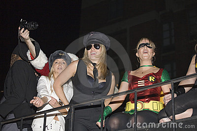 NYC Halloween parade Editorial Stock Image