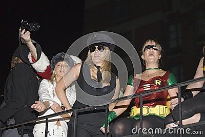 NYC Halloween ståtar Redaktionell Fotografering för Bildbyråer