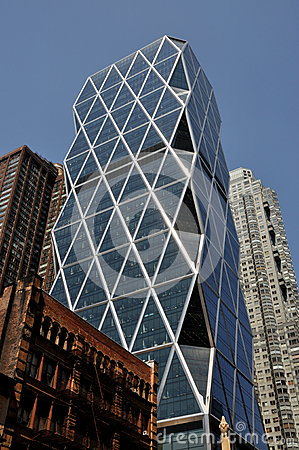 NYC: The Hearst Tower Editorial Image