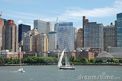 NYC: Lower Manhattan Skyline