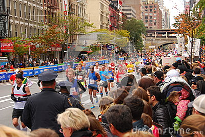 NYC Marathon 2013 Editorial Stock Photo