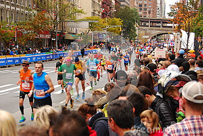 NYC Marathon 2013 Editorial Photo