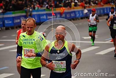 NYC Marathon 2013 Editorial Stock Photo