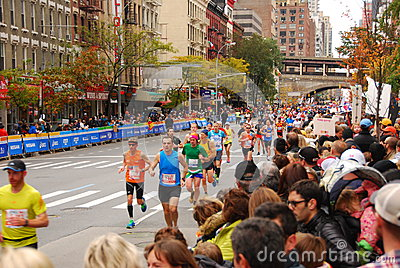 NYC Marathon 2013 Editorial Stock Image