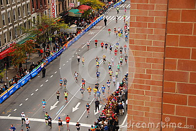 NYC Marathon 2013 Editorial Photography