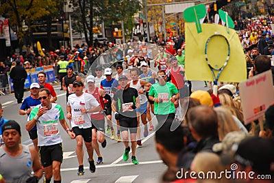 NYC Marathon 2013 Editorial Photo