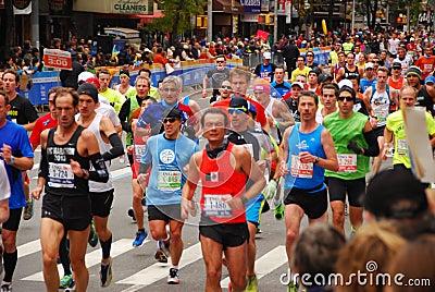 NYC Marathon 2013 Editorial Stock Image