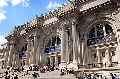 NYC: Metropolitan Museum of Art Editorial Stock Photo