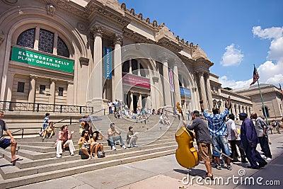 NYC Metropolitan Museum of Art Editorial Stock Photo